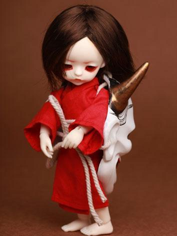 BJD Hannya Girl 16cm Ball-j...