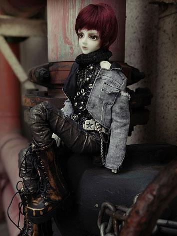 Wig 7in Rwigs45-11 of MSD BJD (Ball-jointed Doll)