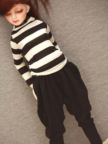 BJD Clothes striped blouse and pants for SD13/SD17/70CM Ball-jointed Doll