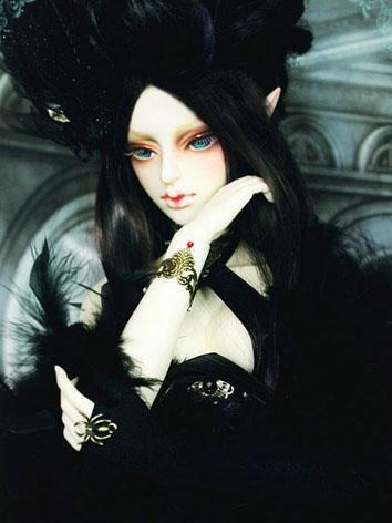 BJD Nathrae Girl Boll-joint...