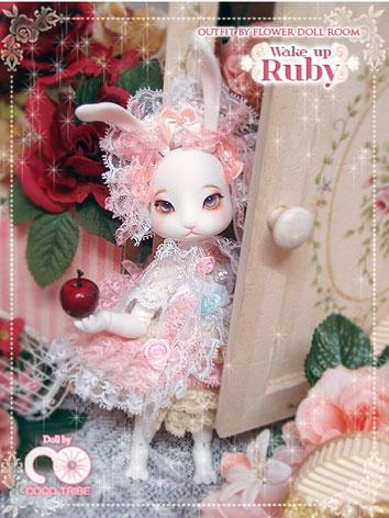 BJD Rabbit Ruby Boll-jointe...