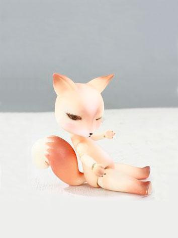BJD Fox 12cm Ball-jointed d...