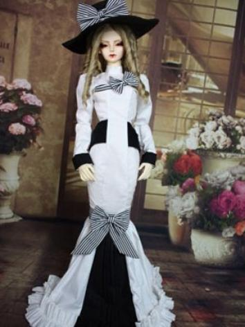 Bjd Clothes Elizabeth for MSD, SD10, SD13, SD16 Ball-jointed Doll