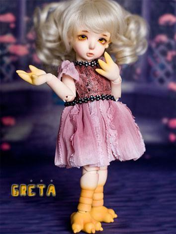 BJD Greta 26cm Girl Ball-jo...