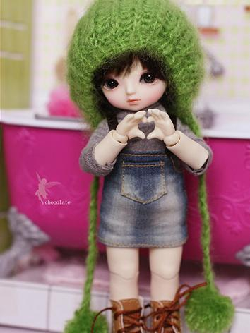 BJD Chocolate 16cm Girl Bal...