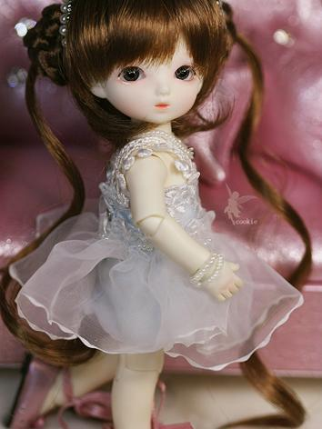 BJD Cookie 16cm Girl Ball-j...