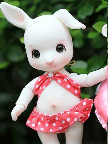 BJD Qiaqia 14cm rabbit Ball...