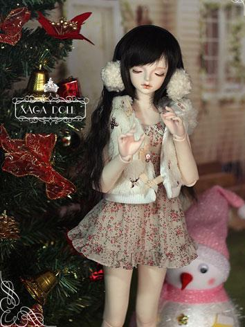 BJD Clear 59cm Girl Ball-Jointed Doll