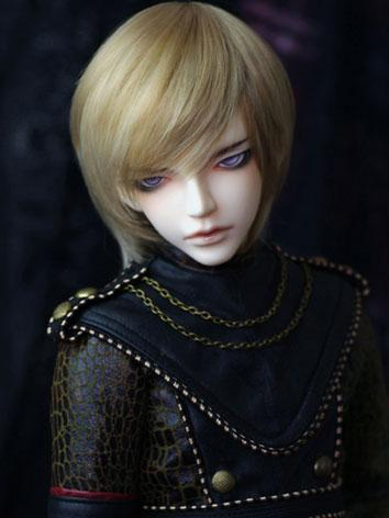 BJD Wig Light Short Golden ...