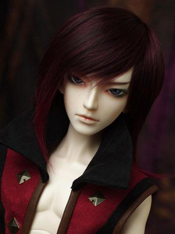 BJD Wig Red for SD