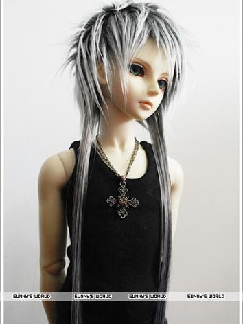 BJD Wig Gray for SD