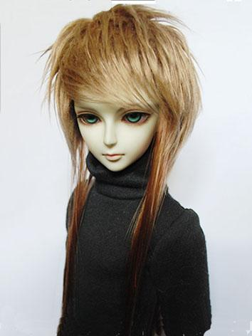 BJD Wig Brown for SD