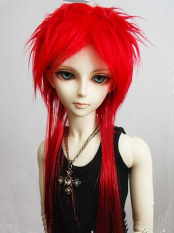 BJD Wig Red for YOSD/MSD/SD...