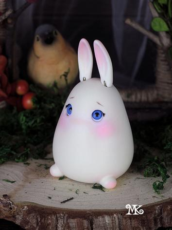 BJD's pet Snowy Rabbit Ball...