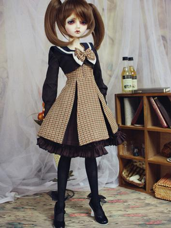 Bjd Clothes Students uniform for MSD/SD10/SD13/SD16 Ball-jointed Doll