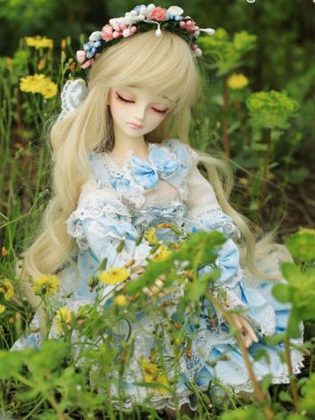 BJD Ting(Eyes are sleeping) Girl 43cm Boll-jointed doll