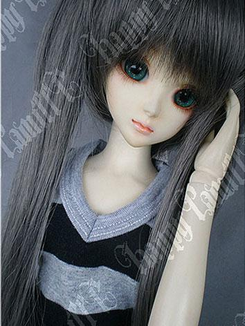 BJD Hatsune MIKU Gray Wig for SD/MSD Size Doll Ball-jointed doll