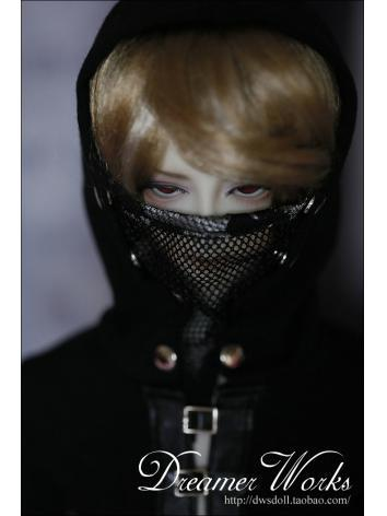 BJD Clothes Assassin Coat Boy for 70cm/SD/MSD Ball-jointed Doll