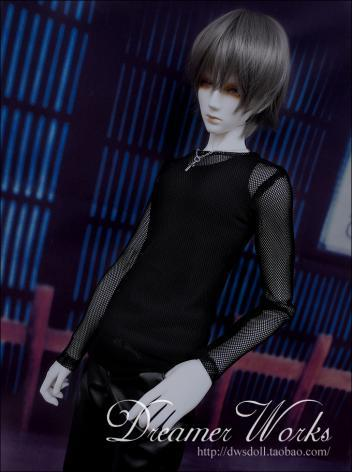 BJD Clothes Black Jacket Boy for 70cm/SD/MSD Ball-jointed Doll