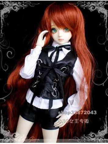BJD Clothes Leather Costume...