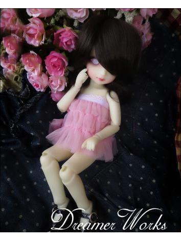BJD Clothes Pink Skirt Set ...