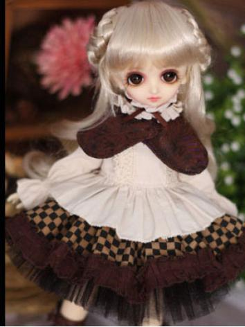 Bjd Clothes Chocolate Mouss...