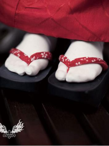Bjd Shoes Geta for 1/2、SD Size Ball-jointed Doll
