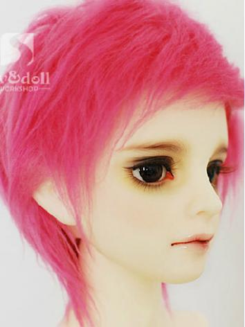 BJD Wool Wig Red 80 for SD/MSD/YO-SD/BB Size