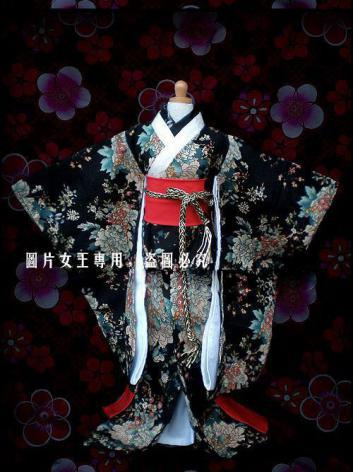 BJD Clothes Kimono for MSD/SD Ball-jointed Doll