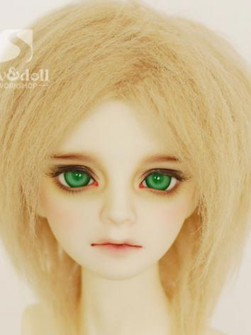 BJD Wool Wig Gold 94 Hair for SD/MSD/YO-SD/BB Size Ball-jointed Doll