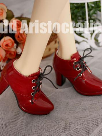 Bjd Red High-heeled Shoes f...