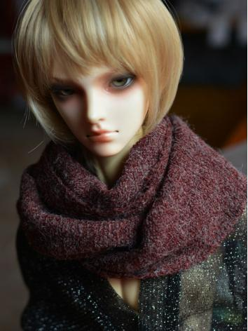 BJD Decoration Muffler Red A020 for 70cm/SD Ball-jointed doll