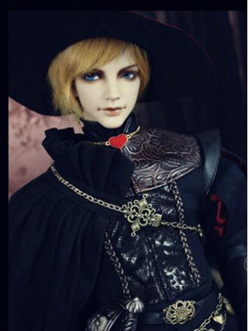 Bjd Clothes Costume Set The Red Knight Limited Edition for SD10/SD13/SD17 Ball-jointed Doll