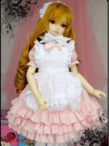 BJD Clothes Maid Costume fo...
