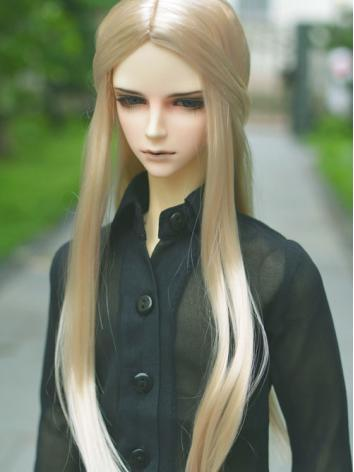 BJD Center Parted Wigs for ...