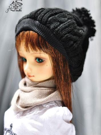 BJD Black Cute Hat for 70cm...
