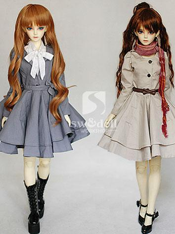 BJD Clothes Beautiful Windbreaker Two-colors for SD Ball-jointed Doll