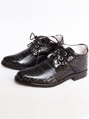 Bjd Shoes Black Shoes 10607 for 70cm Size Ball-jointed Doll