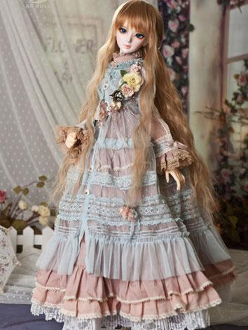 【limited Edition】bjd Clothes Mori Girl Style Western Dress