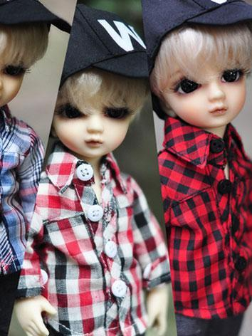 BJD Clothes Gird Shirt Fit for SD BJD for 75cm/70cm/SD/MSD/YSD Ball-jointed Doll