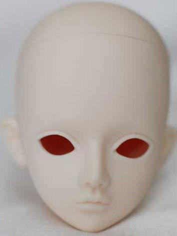 BJD Head Yew/Lavender Ball-...