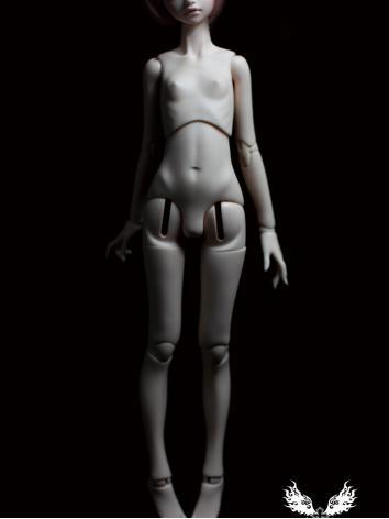 BJD 45cm Female Jointed Torso Body Ball Jointed Doll