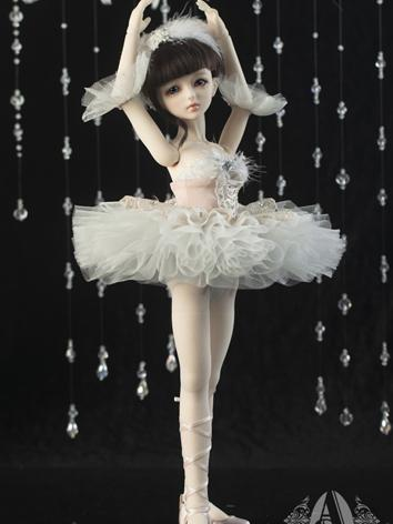 【Limited Edition】Bjd Clothes Dreamy Ballet Skirts/Pink CL4130706 for MSD Ball-jointed Doll