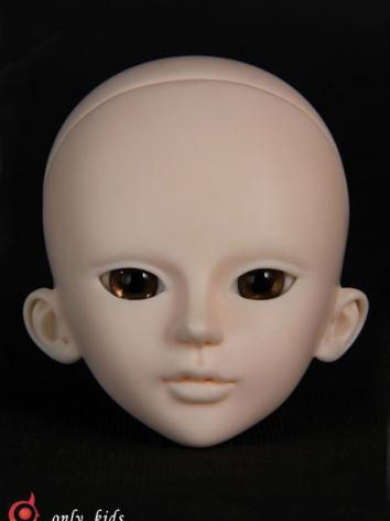 BJD Doll Head Orange for SD Ball-jointed Doll