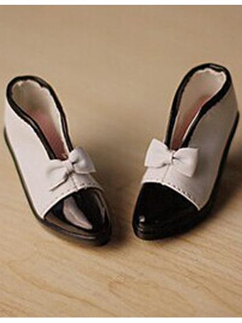 Bjd Open High-heel Bow Blac...