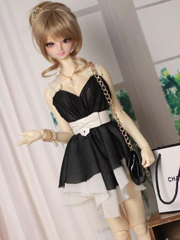 BJD Clothes Black Dress【Lin...