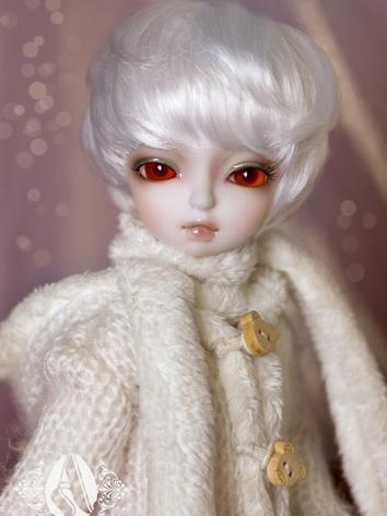 【Limited Edition】BJD Wig White Short Wig WG61004 for YO-SD Size Ball-jointed Doll