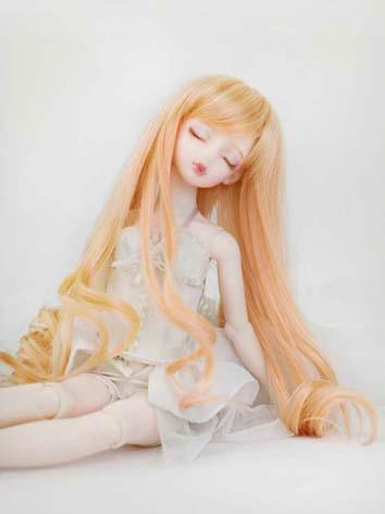 【Limited Edition】BJD 1/4 Crosswires Long and Curly Hair Wig WG42011 for MSD Size Ball-jointed Doll