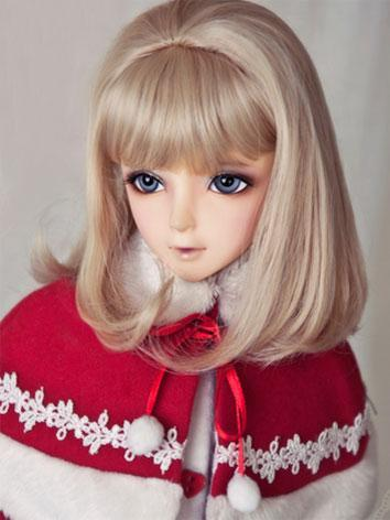 【Limited Edition】BJD Girl 1/3 Light Gold Princess Curl Wig WG32061 for SD Size Ball-jointed Doll