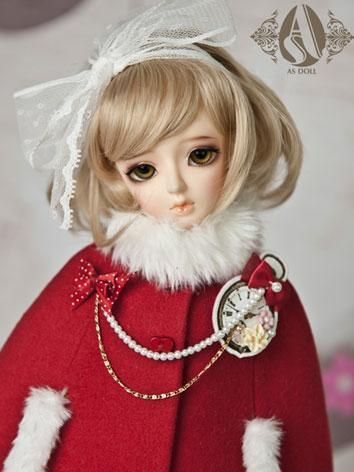 【Limited Edition】BJD Girl 1/4 Light-golden Princess Curl Wig WG42027 for MSD Size Ball-jointed Doll